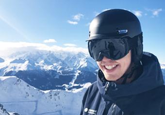 Jack ski instructor Verbier
