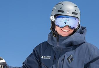 Jake Gough Freeride ski instructor