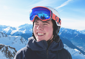 Tom photo - english-speaking ski instructor Verbier