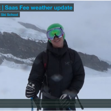 Saas Fee weather update