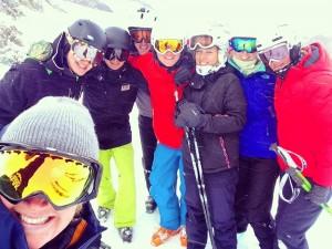 Element Peak Leaders ski instructor training 1