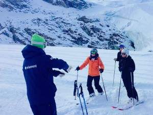 Element Peak Leaders ski instructor training 4