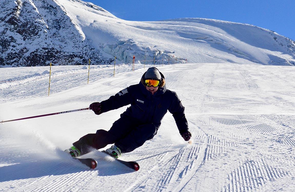Element Peak Leaders ski instructor training 5