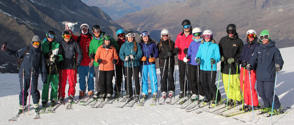 BASI ski instructor training Verbier