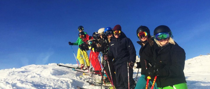 Peak Leaders Ski Instructor Training: Day 1