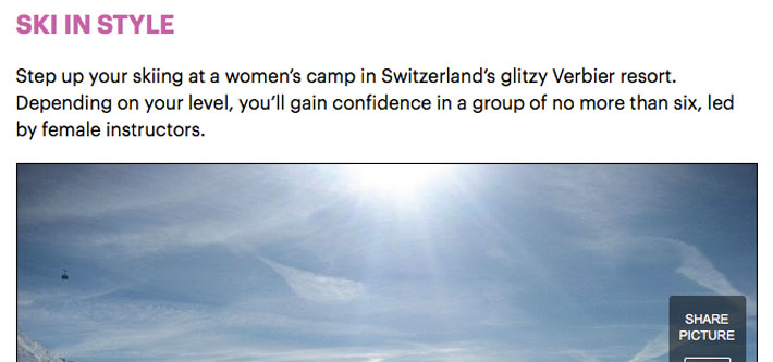 Ski school review - Daily Mail Verbier article