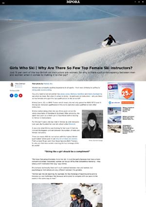 MPORA review of Element Ski School in Verbier