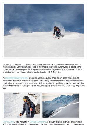 Ski  In Luxury Blog about Element Ski School