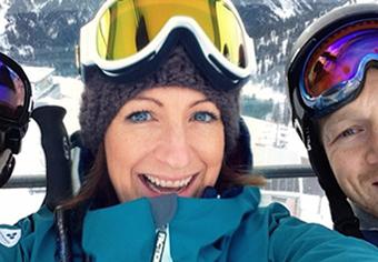 Georgia ski instructor Verbier