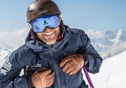 Verbier Ski instructor Guy - Off piste lessons