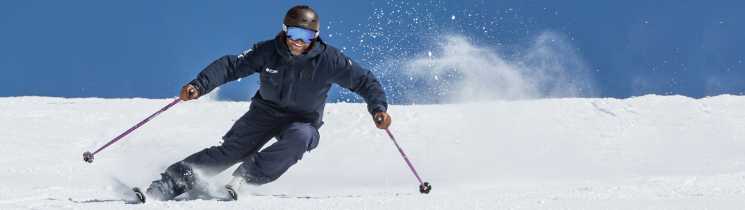 Verbier ski school photos - Guy ski instructor