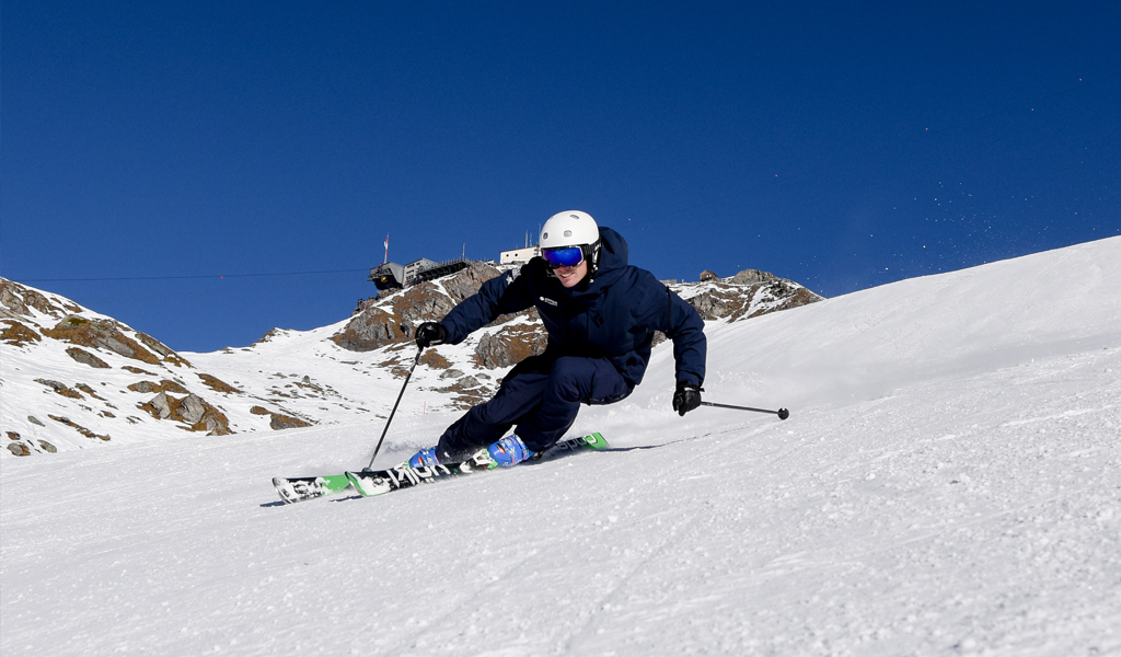 Will verbier ski instructor carving element school