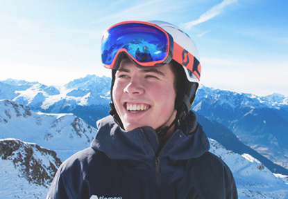 Verbier private lessons - instructor profile Tom