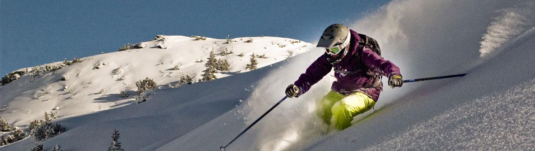 Ski Instructor - Julie in Verbier