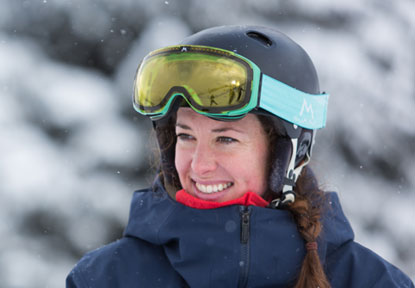 Lottie photo - highly qualified ski instructor Verbier