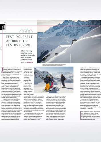 Ski school review - Ski & Board Verbier article