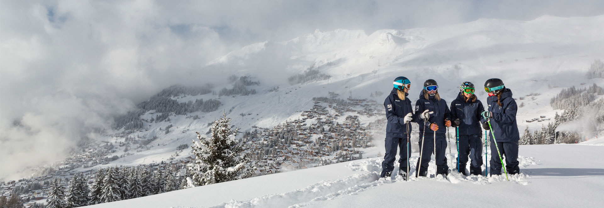 Verbier women's ski courses