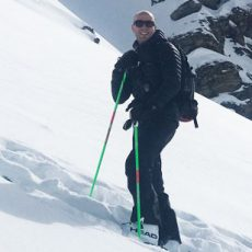 Why Verbier is great for ski touring