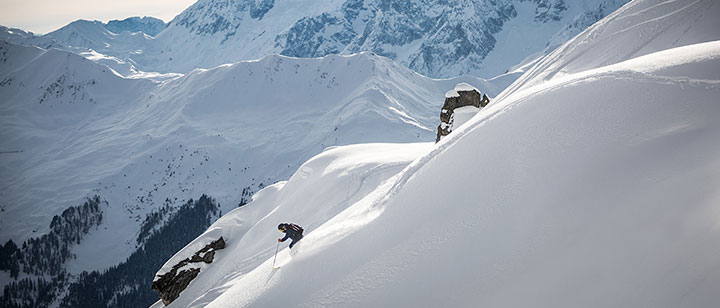 ski touring in verbier