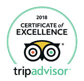 TripAdvisor certificate - top rated ski school