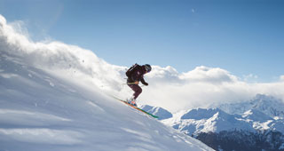 Verbier of piste lessons