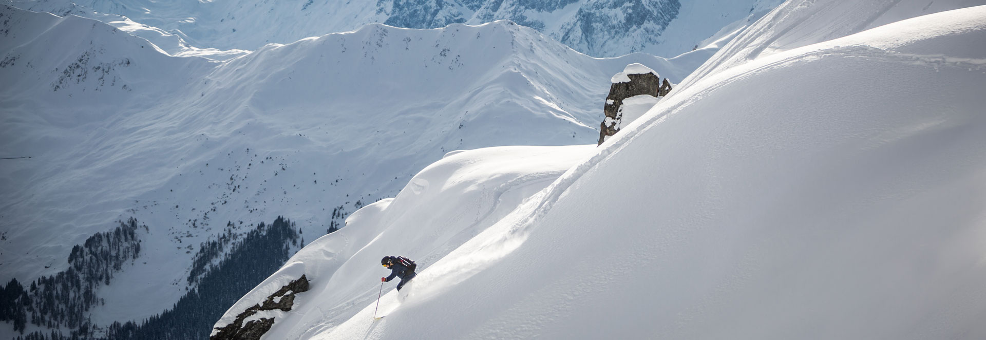 Verbier off piste backcountry Women's Camps