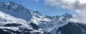 Snow in Verbier