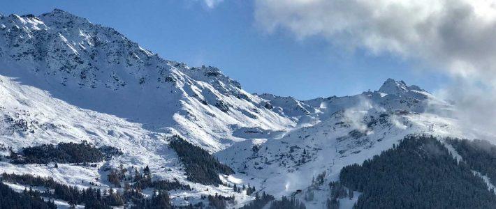 Snow in Verbier