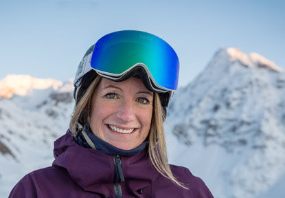 Georgia photo - experienced British ski instructor