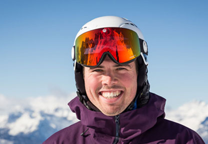 Tom photo - English speaking ski instructor