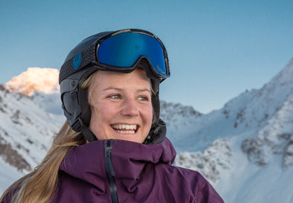 Yaz photo - British ISIA ski instructor