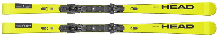 Head E Speed ISTD training skis